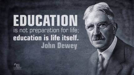 dewey-education-life-itself